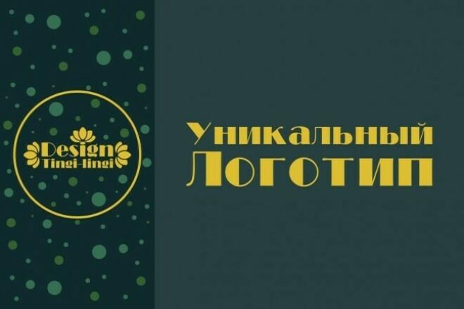 Разработаю уникальный логотип 16 - kwork.ru