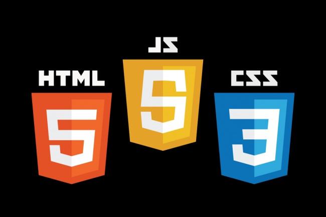 Верстка из PSD в html + CSS + JS 1 - kwork.ru