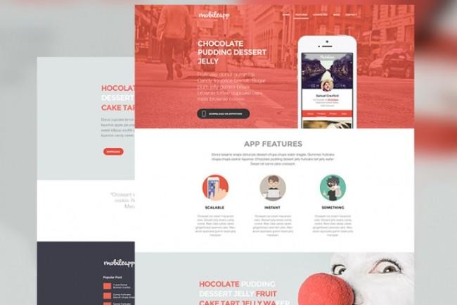 Создам дизайн сайта в PSD 1 - kwork.ru