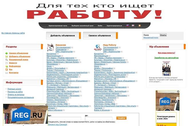 Доска поиска работы под развитие 17 - kwork.ru
