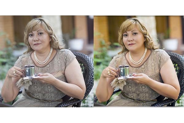 ретушь лица, коррекция недостатков фотографии 1 - kwork.ru