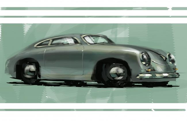 нарисую автомобиль 1 - kwork.ru