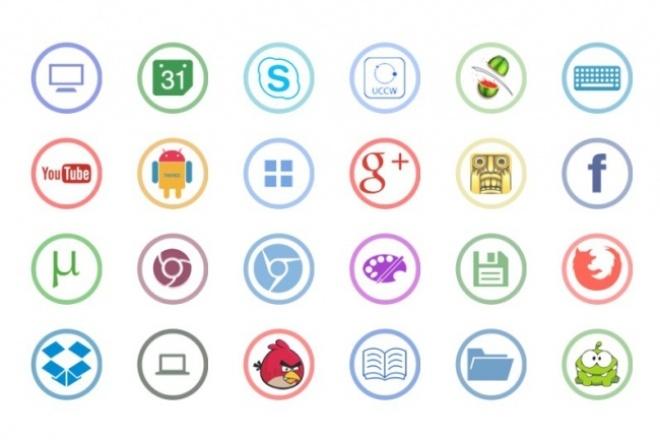 Сделаю иконки для сайтаБаннеры и иконки<br>Сделаю, нарисую иконки для вашего сайта в количестве десяти штук.<br>