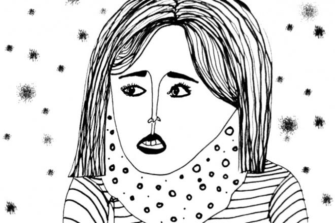 Иллюстрация в векторе, акварели, карандашах 1 - kwork.ru