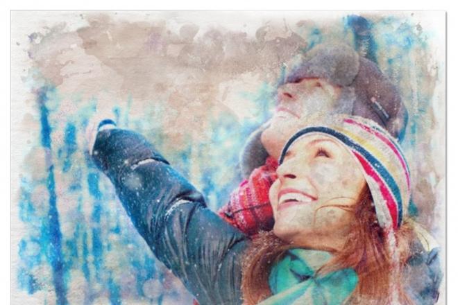 Высококачественные картины по фото. Как идеальные рисунки художника 1 - kwork.ru