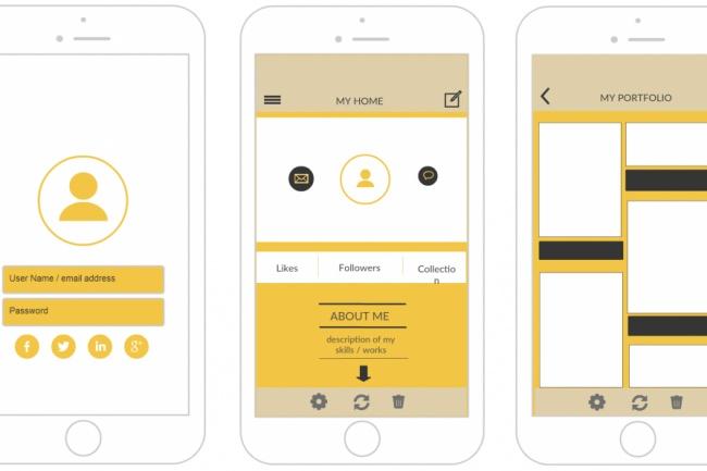 Сделаю активный прототип приложенияВеб-дизайн<br>Сделаю кликабельный прототип приложения для Android или iOS. Могу работать по вашему эскизу, наброску или без него. Срок - от 1 до 3 дней!<br>