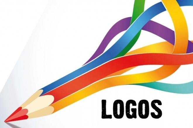 Нарисую простой логотип . Или логотип в векторе 1 - kwork.ru