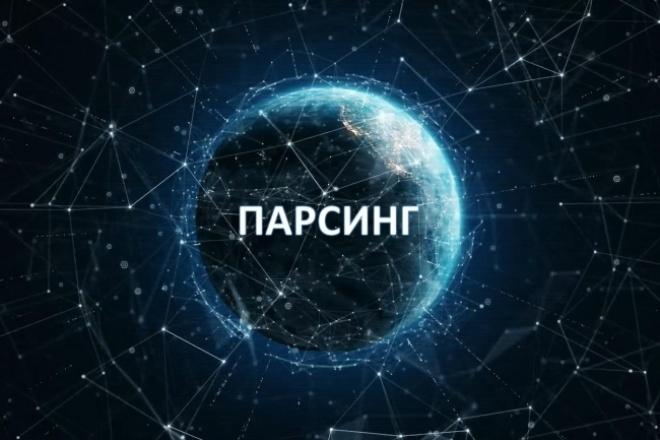 Парсинг информации 1 - kwork.ru