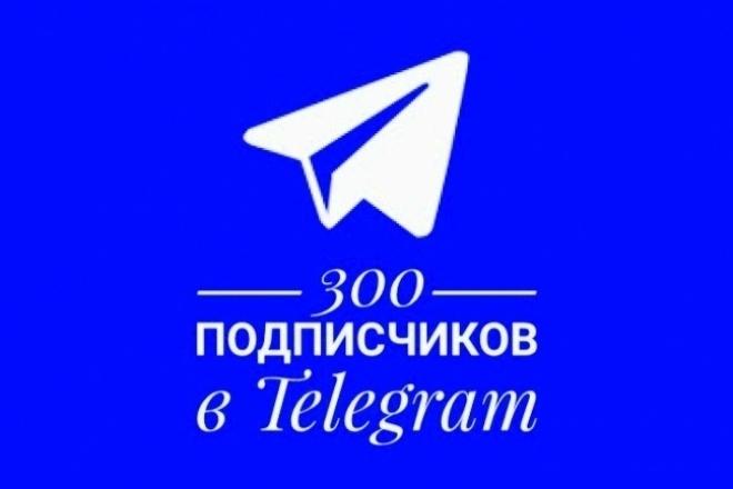 +300 подписчиков на канал в TelegramПродвижение в социальных сетях<br>В течение 10 дней приведу 300 подписчиков на ваш телеграмм канал. Подписчики живые, не боты. Никаких отписок и санкций со стороны Телаграма.<br>