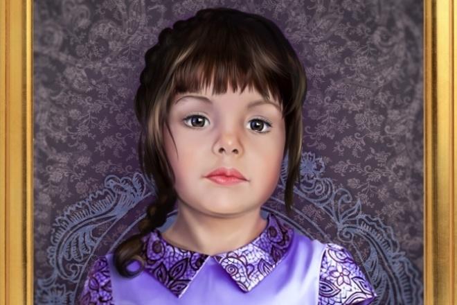 Напишу портретИллюстрации и рисунки<br>Портреты по фотографиям. Портрет под стиль Акварель. Учту ваши пожелания. Качественно и ответственно отнесусь к вашему изображению.<br>