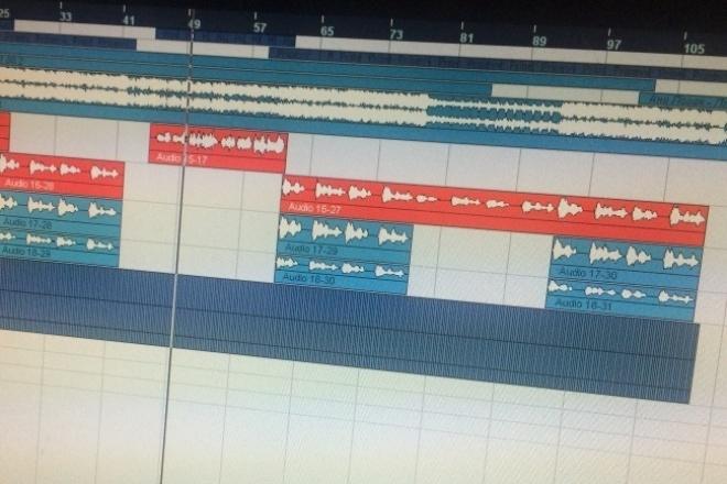 Сделаю нарезку любых аудиоРедактирование аудио<br>Нарезка аудио в форматах: - Несколько песен в одном файле(До 3 песен за 1 Кворк) - Вырезание нужных фрагментов песни - Сборка разных фрагментов песни в один трек (до 5 минут за 1 Кворк) Работаю оперативно. Буду рад сотрудничеству!<br>
