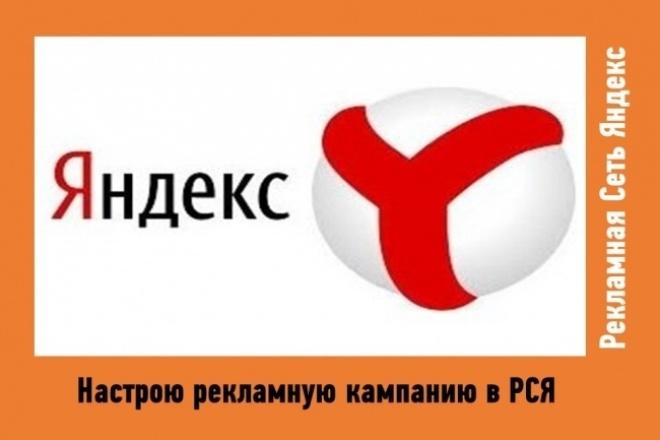 Настройка рекламной кампании в РСЯ 1 - kwork.ru