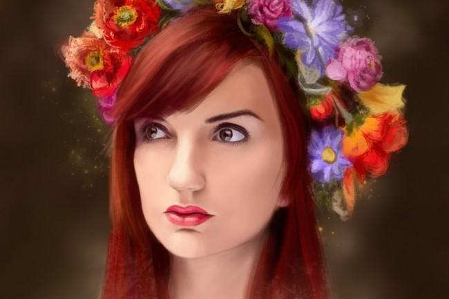 Художественный CG-портрет по фото 1 - kwork.ru