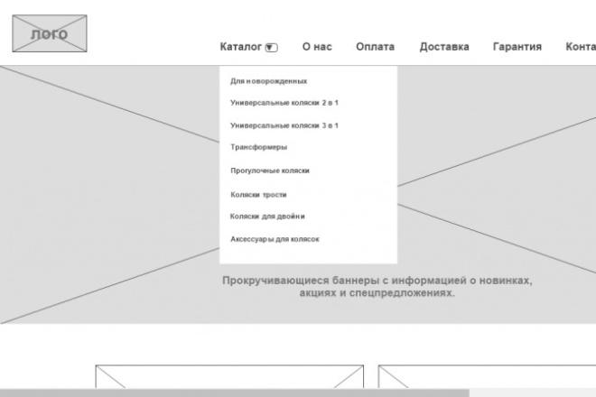 Сделаю качественный прототип вашего будущего сайта 1 - kwork.ru