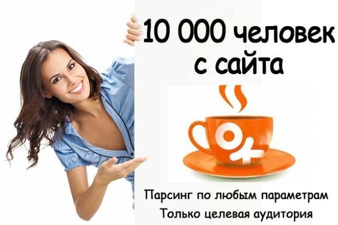 Соберу 10000 участников по заданным параметрам на Одноклассниках 1 - kwork.ru
