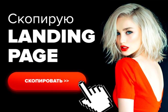 Скопирую Landing page за 1 день. Качественно. В срок 1 - kwork.ru