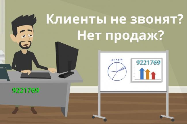 установлю крутую форму обратного звонка на сайт 1 - kwork.ru