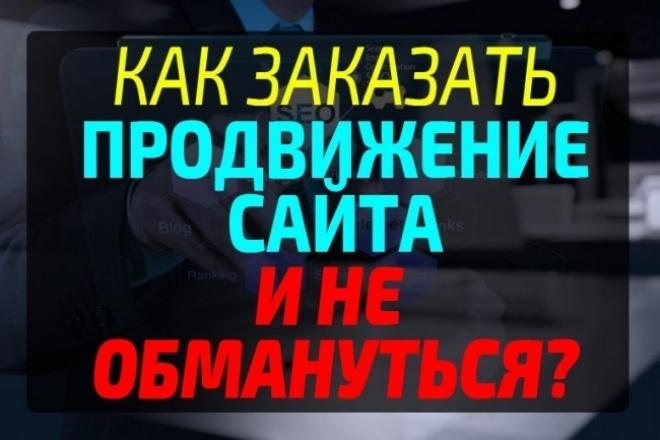 Пояснения и подробности при выборе исполнителя по продвижению 1 - kwork.ru