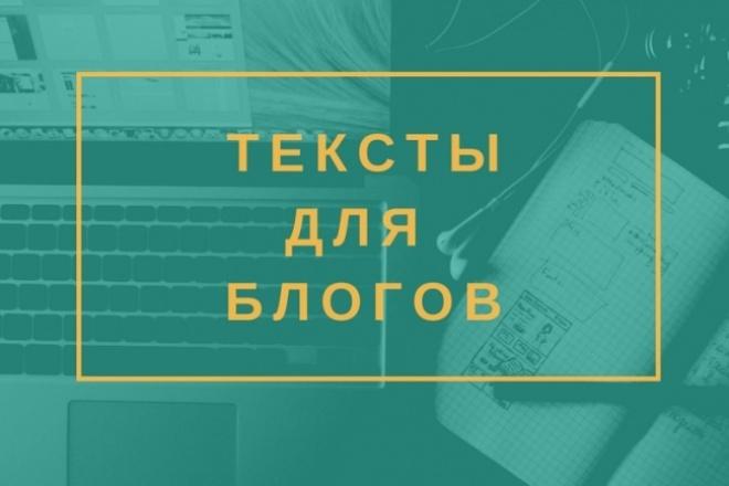 Яркие тексты для блогов и сайтов 1 - kwork.ru