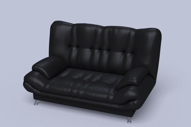 Сделаю 3D модель мягкой мебели + текстурирование и визуализация 1 - kwork.ru