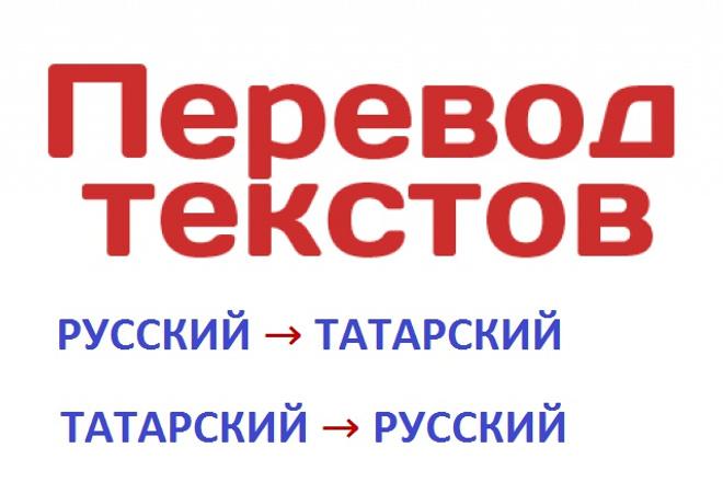 Переведу текст, c русского на татарский, с татарского на русскийПереводы<br>Переведу тексты любой сложности, любого объема и на любую тематику (кроме художественной литературы) с русского языка на татарский и с татарского языка на русский. Работу сделаю быстро и качественно.<br>