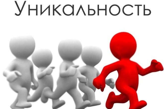 напишу качественную уникальную статью 1 - kwork.ru