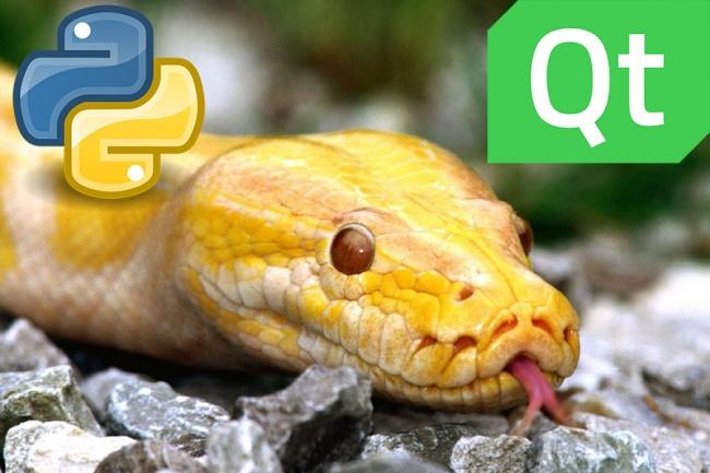Напишу программку на Python с интерфейсомПрограммы для ПК<br>Пишу любой скрипт на Python с графическим интерфейсом если необходимо. Исправлю или дополню функционал уже готовых скриптов на Python. Обработка информации, парсинг, боты, реализация алгоритмов. Работа с базами SQL, Excel, TXT и т.д Автоматизирую рутинную работу Возможно использование сторонних библиотек. По вашему желанию прокомментирую код.<br>