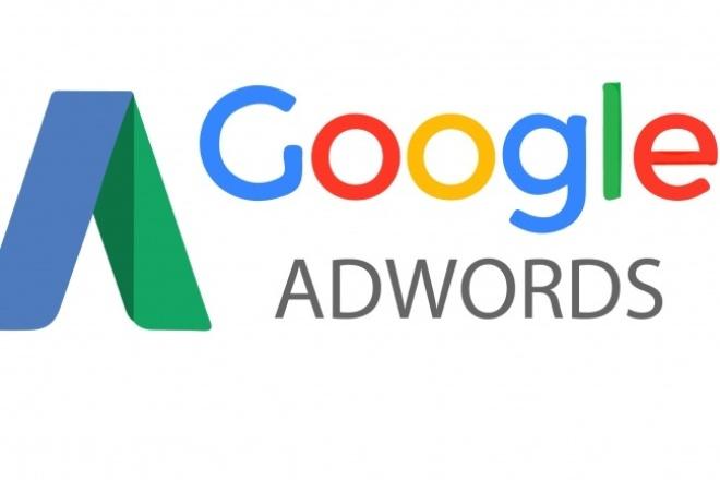 Настройка поисковой кампании Google Adwords 1 - kwork.ru