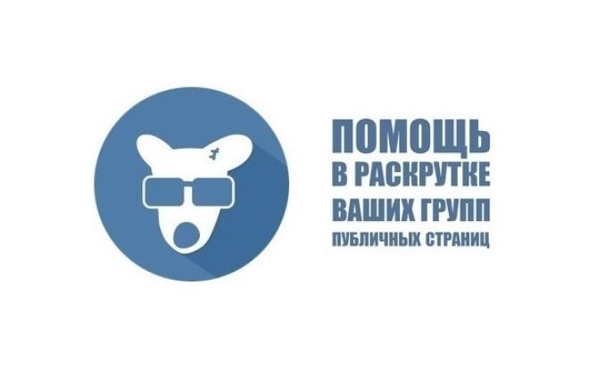 300 живых участников в группу ВК 1 - kwork.ru