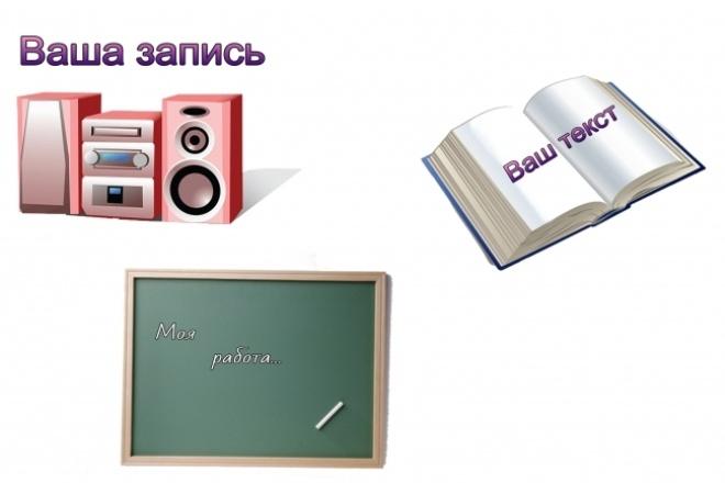 Аудио в текстНабор текста<br>Оформлю вашу аудио-запись в текст. Возможна запись на английском языке (без перевода). Запись до 30 минут<br>
