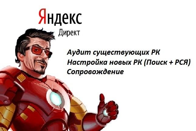 Настройка поисковой РК в Яндекс. Директ 1 - kwork.ru