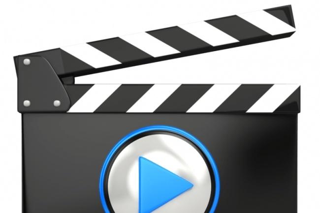 Запишу видеоВидеоролики<br>Приветствую Вас. Запишу видео длительностью 2-3 минуты. Есть штат сотрудников которые могут снять ролик.<br>