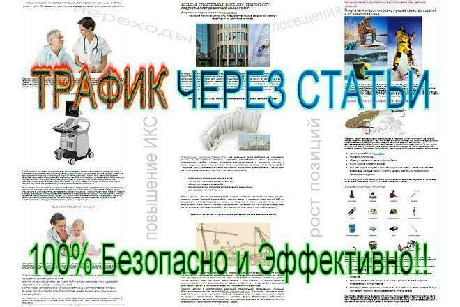 От 1000 посещений из Статейных доноров - 100% Безопасно и эффективно 1 - kwork.ru