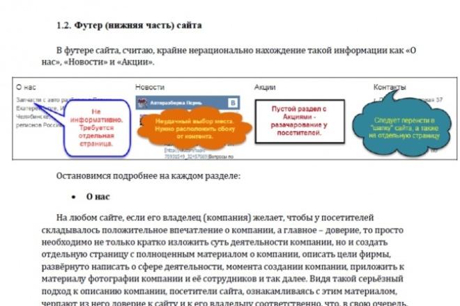 Проведу аудит сайта, создам полноценный отчёт 1 - kwork.ru