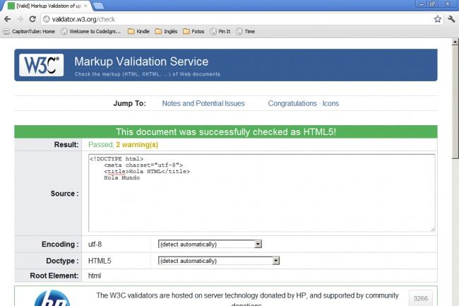сделаю Валидацию вашего сайта по стандарту W3C 1 - kwork.ru