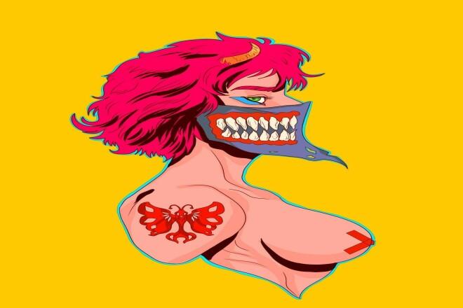 Персонаж, иллюстрация на заказ 1 - kwork.ru
