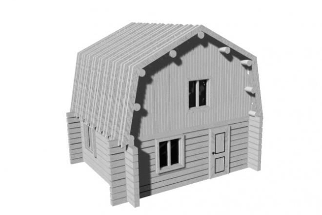 3D модель 1 - kwork.ru