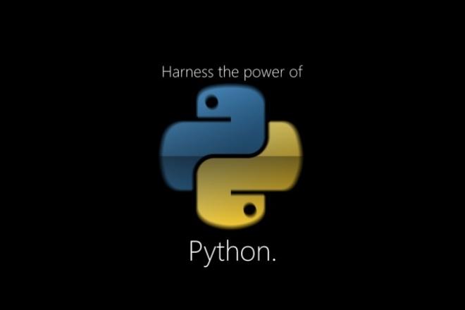 Напишу/модифицирую/исправлю скрипт на Python 1 - kwork.ru