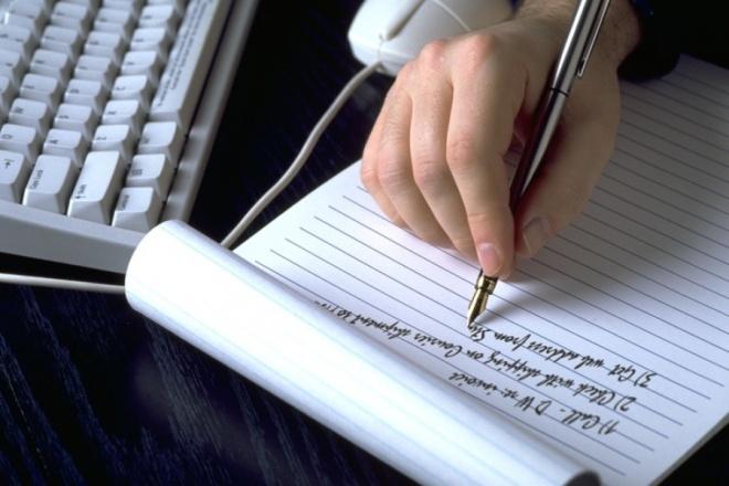Быстро и качественно напишу любую статью 1 - kwork.ru