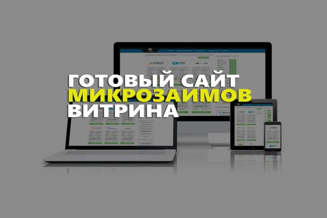 Готовый сайт Витрина микрозаймов под cpa 1 - kwork.ru