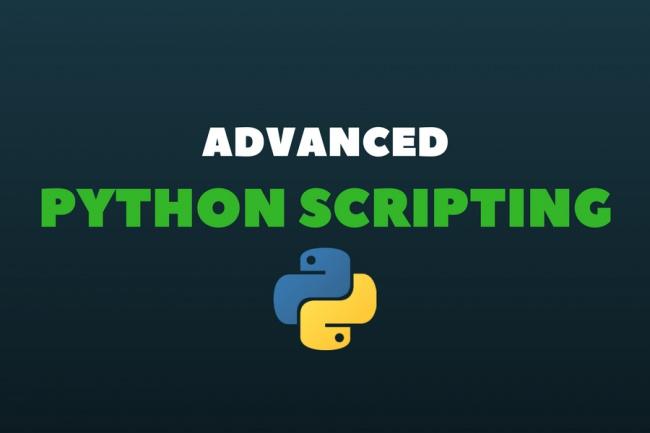 Разработаю Python скрипт для ваших задач 1 - kwork.ru
