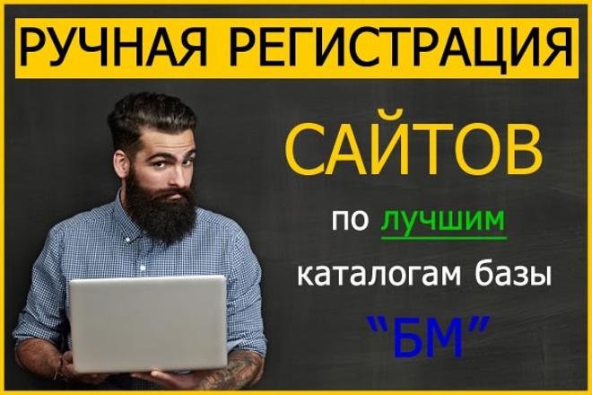 Регистрация в каталогах организаций, справочниках компаний, ручная 25 1 - kwork.ru