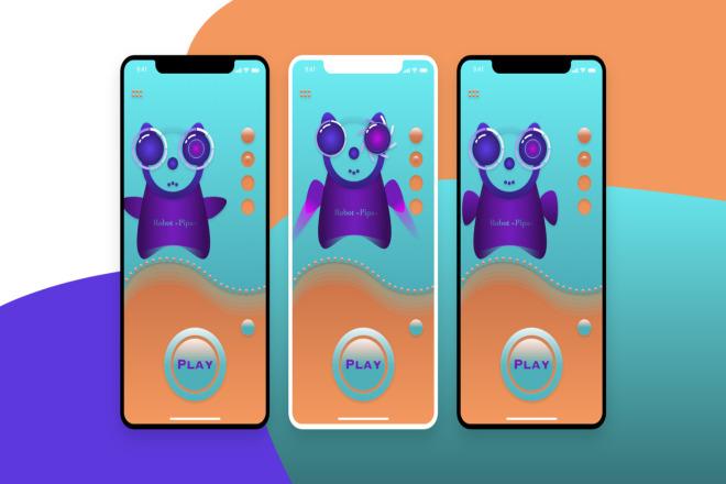 Дизайн мобильных приложений 1 - kwork.ru