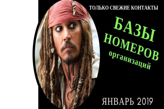База номеров телефонов, более 131 города России 1 - kwork.ru