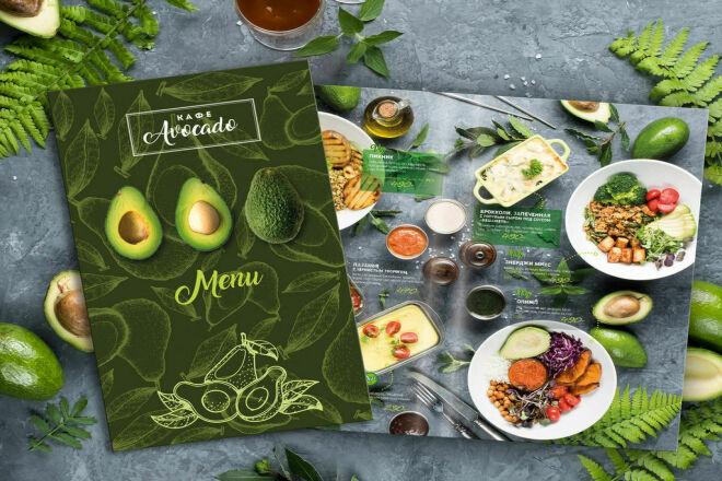 Дизайн меню для кафе, ресторана, кофейни 11 - kwork.ru