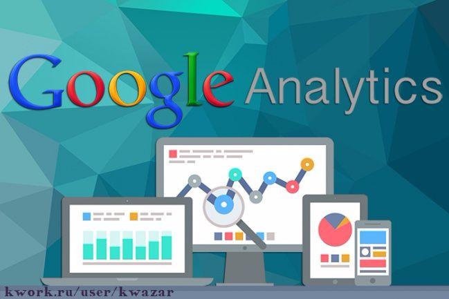 Установка Google Analytics на сайт 1 - kwork.ru