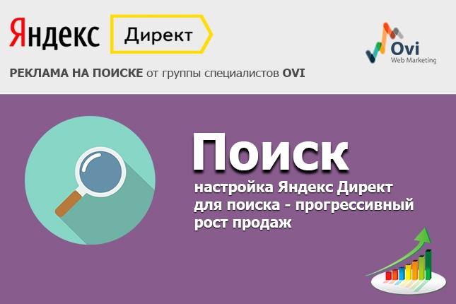 Настрою Яндекс. Директ + метрика и цели в подарок 1 - kwork.ru