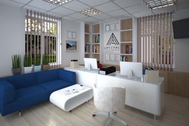 Разработаю дизайн-проект офисаМебель и дизайн интерьера<br>Разработаю дизайн-проект офиса по Вашим критериям и пожеланиям + прилагаю 3Д визуализацию помещения, в двух вариантах.<br>