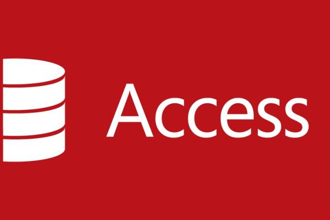 создам базу данных в Access 1 - kwork.ru