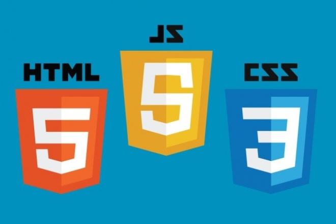 Сверстаю страницу в html5 из макета Photoshop (psd) 1 - kwork.ru